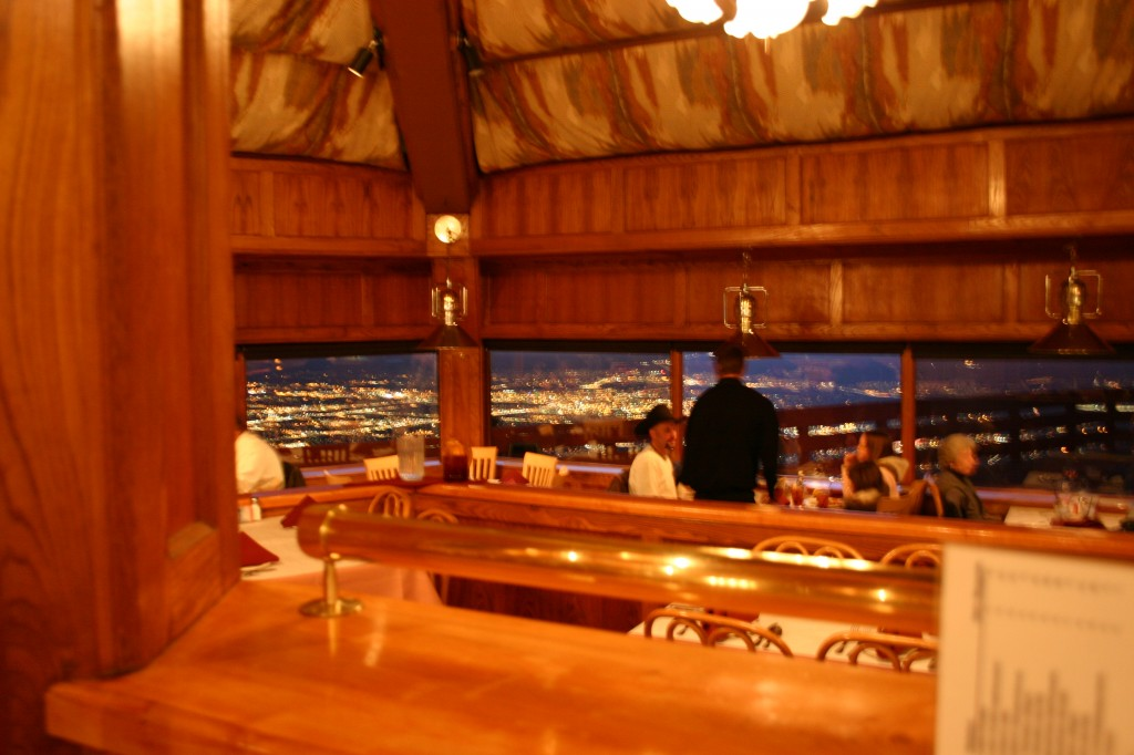 View From Bar At Sandia Peak Restaurant